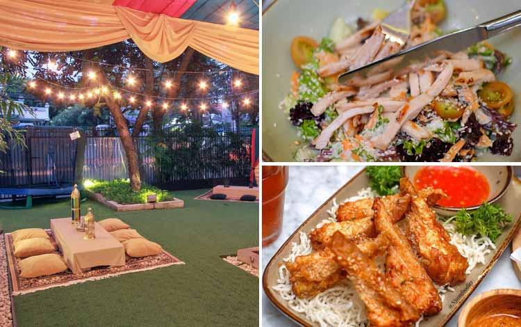 Tempat Makan atau Restoran Dengan Nuansa Alam Di Jakarta - SIKU Dharmawangsa
