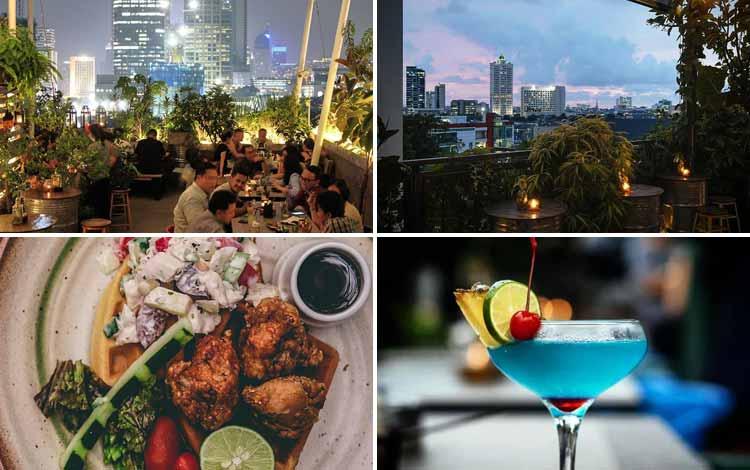 Tempat Makan atau Restoran Dengan Nuansa Alam Di Jakarta - The Awan Lounge