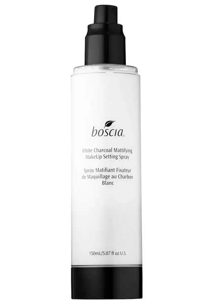 Rekomendasi Merk Setting Spray Agar Make Up Kamu Awet - Boscia White Charcoal Mattifying MakeUp Setting Spray