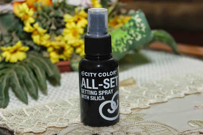 Rekomendasi Merk Setting Spray Agar Make Up Kamu Awet - City Color All-Set Setting Spray