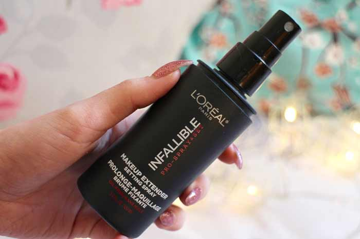 daftar-merk-setting-spray-untuk-makeup-tahan-lama-L'oreal-Infallible-Make-Up-Extender-Setting-Spray
