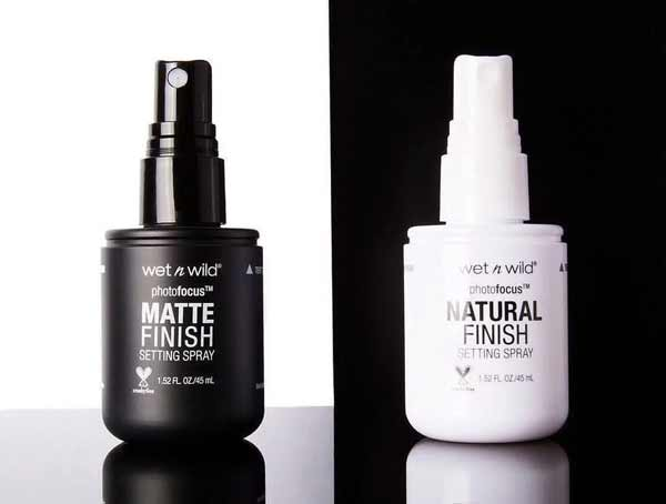 Rekomendasi Merk Setting Spray Agar Make Up Kamu Awet - Wet n Wild Photofocus Setting Spray