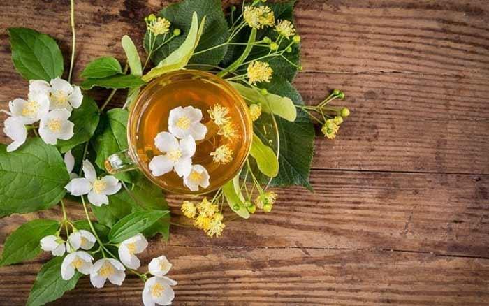 Cara Ampuh Mengurangi Rambut Rontok Secara Alami - teh bunga linden