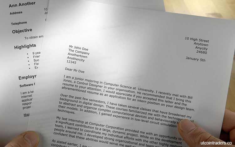 Download Contoh Surat Lamaran Kerja Yang Baik Dan Benar Blog Unik