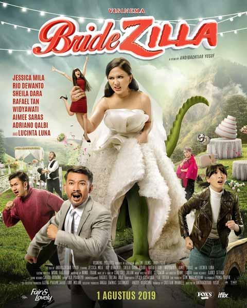 Film Bioskop Tayang Agustus 2019 - Bridezilla