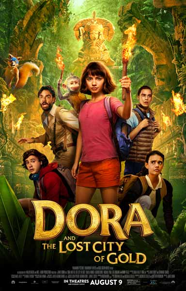 Film Bioskop Tayang Agustus 2019 - Dora and The Lost City of Gold
