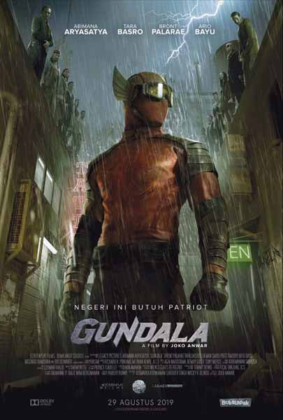 Film Bioskop Tayang Agustus 2019 - Gundala
