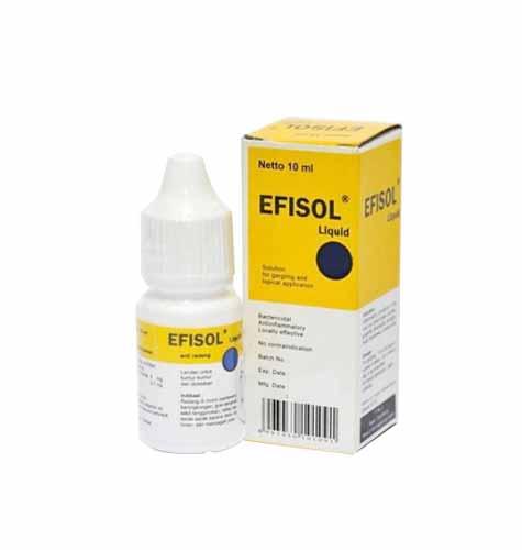 Daftar Obat Yang Bagus Dan Cepat Menghilangkan Sariawan - Efisol Liquid