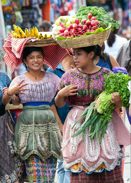 Daftar Pakaian Tradisional Terunik Di Dunia - Pakaian Tradisioanl Suku Maya Guatemala