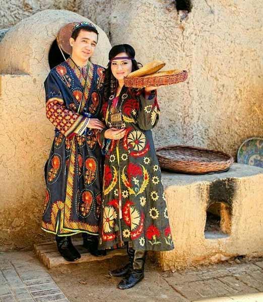 Daftar Pakaian Tradisional Terunik Di Dunia - Pakaian Tradisional Usbekistan