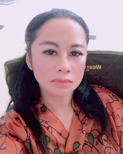 Pemain Sinetron Cinta Buta SCTV - Hira Ninok Wiryono sebagai Kania