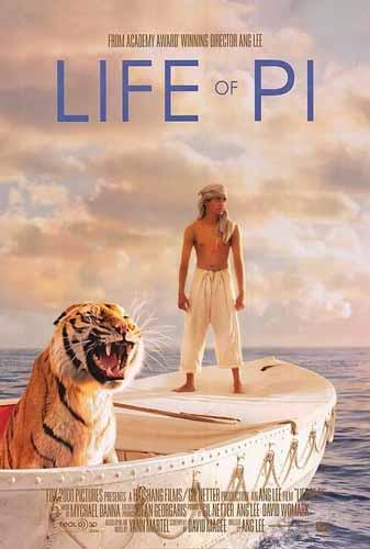 Film Petualangan Terbaik - Life of Pi (2012)