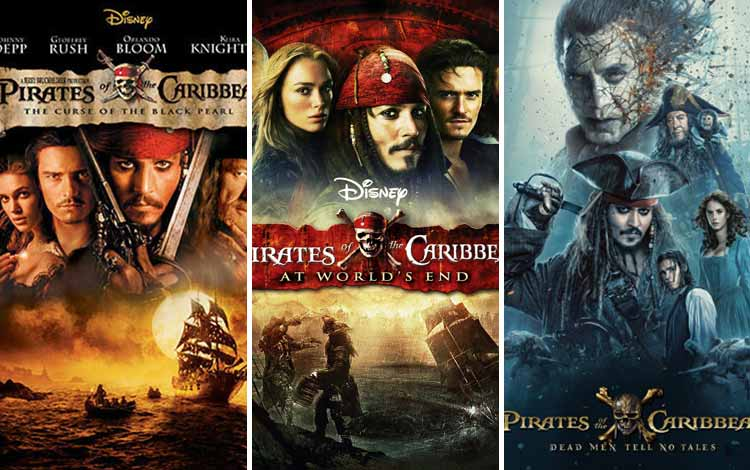 Film Petualangan Terbaik - Pirates of The Caribbean