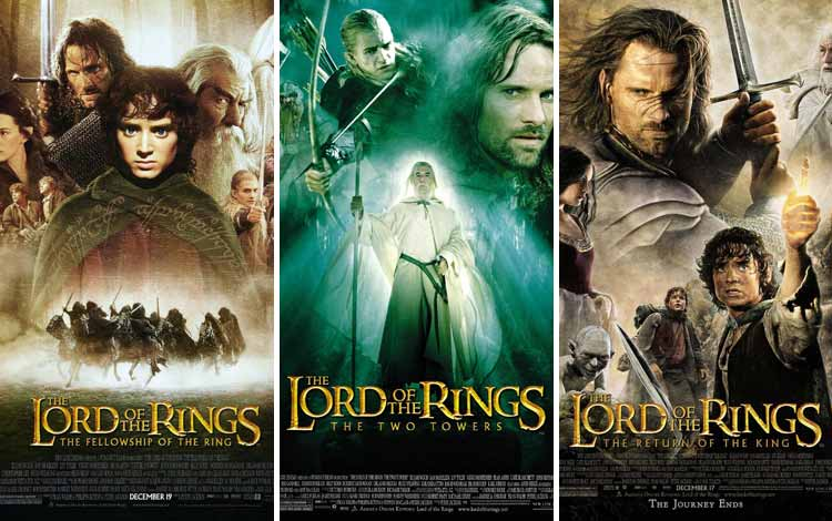 Film Petualangan Terbaik - The Lord Of The Ring (2001 - 2003)
