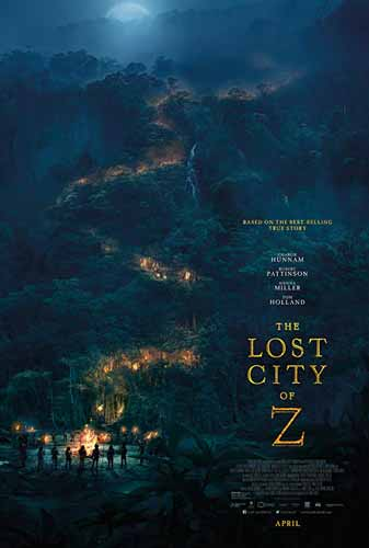 Film Petualangan Terbaik - The Lost City of Z (2016)