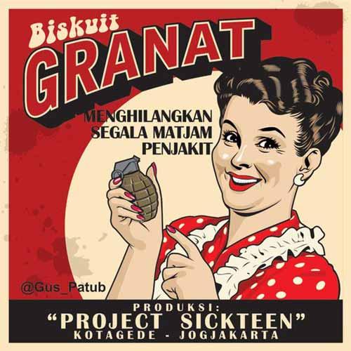 Iklan Jadul Kocak - Biskuit Granat