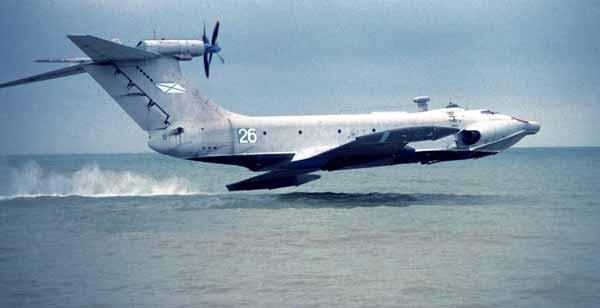 Inilah Ekranoplan Pesawat Laut Yang Dijuluki Monster Laut Kaspian