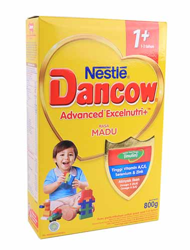 Merk Susu Yang Bagus Untuk Perkembangan Otak Anak - Dancow Advanced Excelnutri+