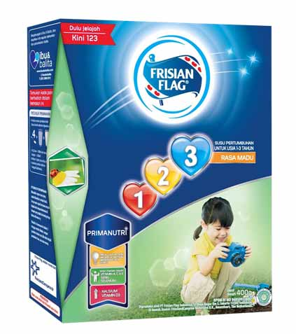 Merk Susu Yang Bagus Untuk Perkembangan Otak Anak - Frisian Flag 123 Primanutri