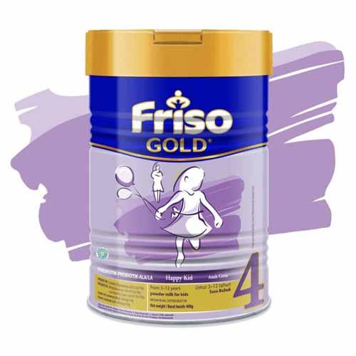 Merk Susu Yang Bagus Untuk Perkembangan Otak Anak - Friso Gold 4