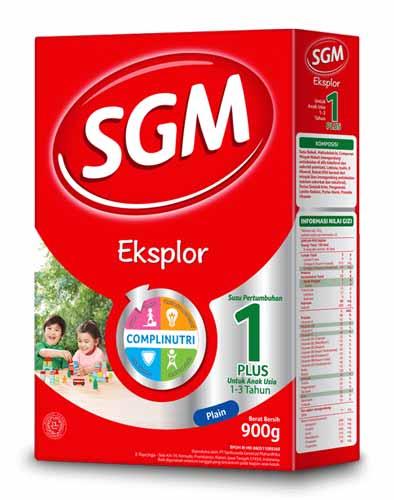 Merk Susu Yang Bagus Untuk Perkembangan Otak Anak - SGM Exsplor 1 Plus