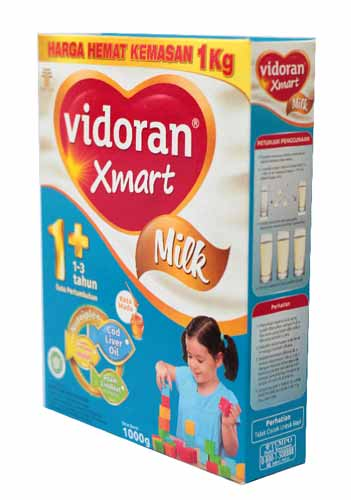 Merk Susu Yang Bagus Untuk Perkembangan Otak Anak - Vidoran Xmart Milk