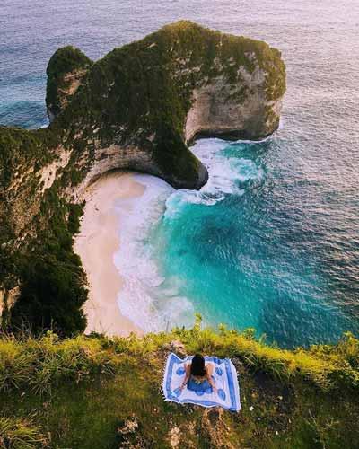 Pantai Terindah Di Indonesia - Pantai Kelingking