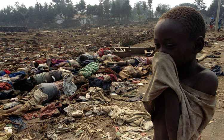 Pembunuhan Massal Terbesar Sepanjang Sejarah - Genosida Rwanda
