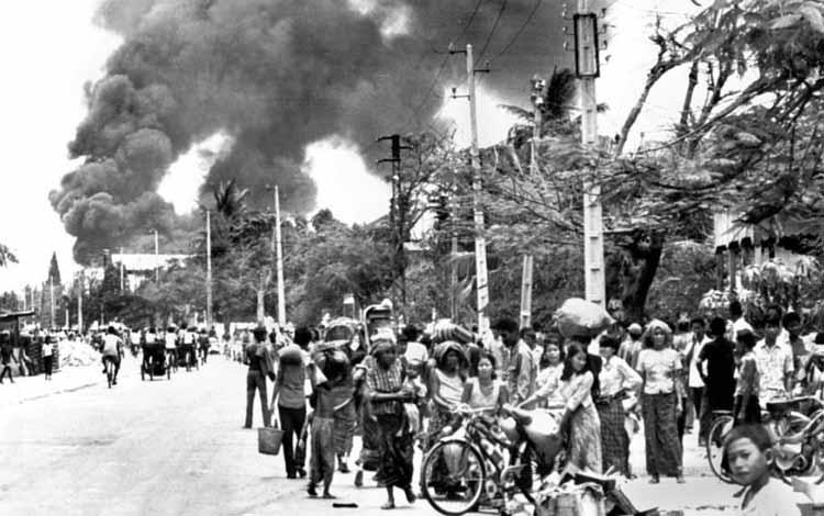 Pembunuhan Massal Terbesar Sepanjang Sejarah - Khmer Merah