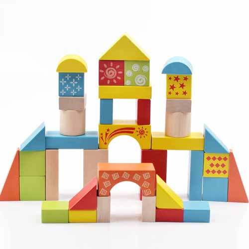 Rekomendasi Mainan Edukasi Untuk Bayi 6- 12 Bulan - Balok Kayu
