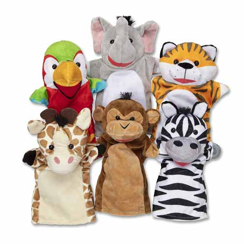 Rekomendasi Mainan Edukasi Untuk Bayi 6- 12 Bulan - Boneka Tangan