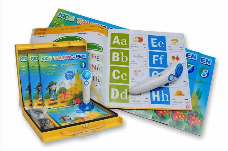 Rekomendasi Mainan Edukasi Untuk Bayi 6- 12 Bulan - Talking Pen
