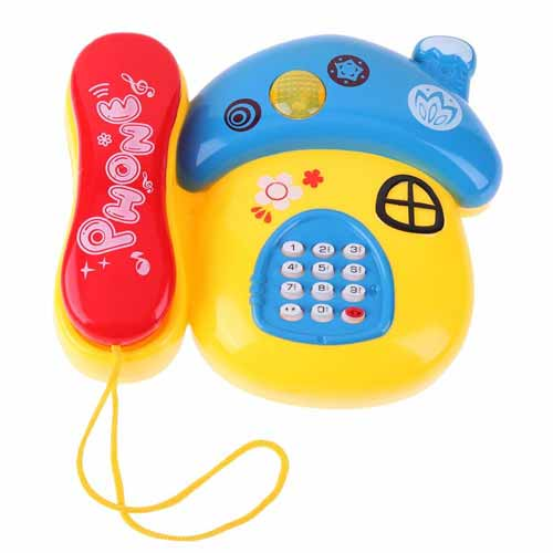 Rekomendasi Mainan Edukasi Untuk Bayi 6- 12 Bulan - Telepon Mainan