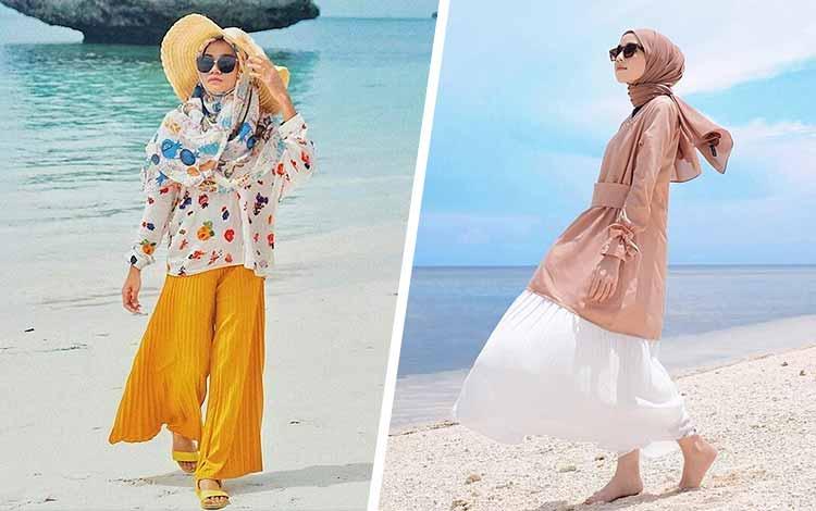 Style Hijab Buat Jalan Jalan