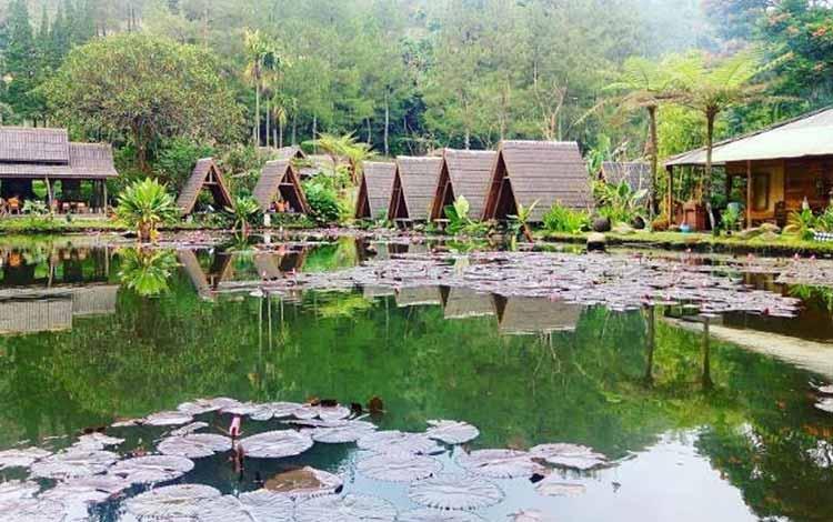 Restoran Dengan Nuansa Alam Di Bandung - Imah Seniman