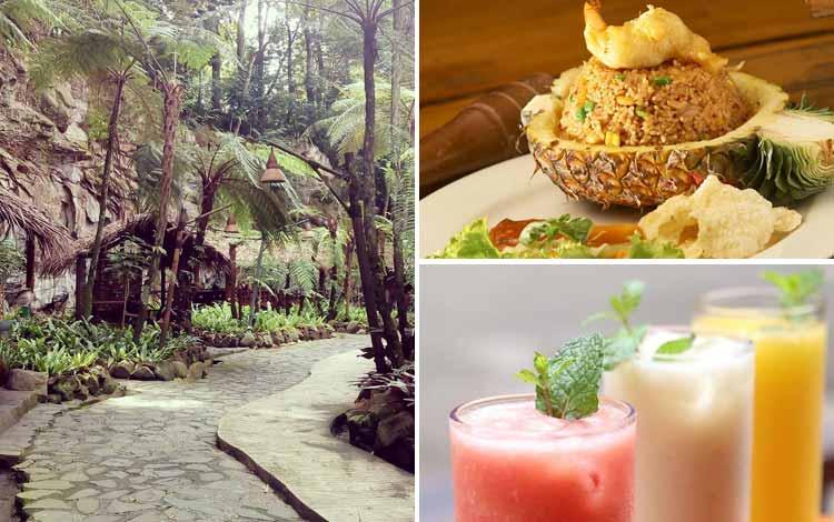 Restoran Dengan Nuansa Alam Di Bandung - Kampung Daun