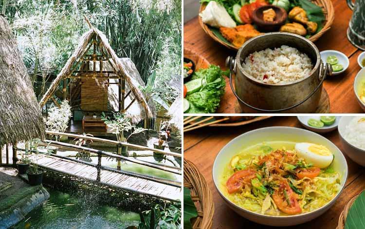 Restoran Dengan Nuansa Alam Di Bandung - Kebon Awi Kaffee