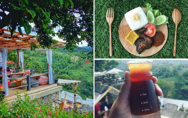 Restoran Dengan Nuansa Alam Di Bandung - Lereng Anteng