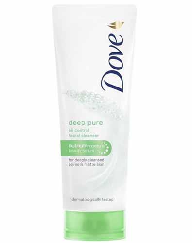 Sabun Wajah Yang Bagus Untuk Kulit Kombinasi - Dove Deep Pure Facial Foam