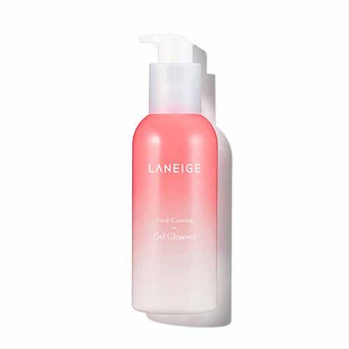 Sabun Wajah Yang Bagus Untuk Kulit Kombinasi - Laneige Fresh Calming Gel Cleanser