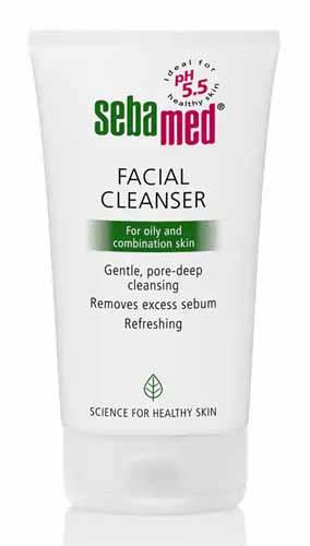 Sabun Wajah Yang Bagus Untuk Kulit Kombinasi - Sebamed Facial Cleanser For Oily and Combination Skin