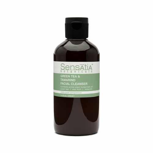 Sabun Wajah Yang Bagus Untuk Kulit Kombinasi - Sensatia Botanicals Green Tea & Tamarind Facial Cleanser