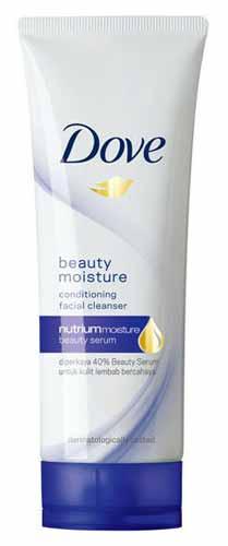 Sabun Wajah Yang Bagus Untuk Kulit Sensitif - Dove Beauty Moisture Facial Foam