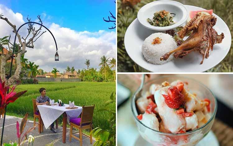 Tempat Makan atau Restoran Dengan Nuansa Alam Di Bali - Bebek Bengil