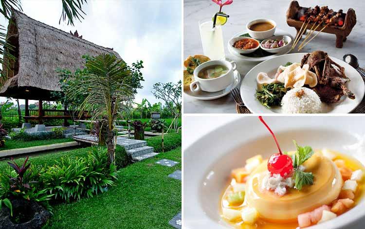 Tempat Makan atau Restoran Dengan Nuansa Alam Di Bali - Bebek Tepi Sawah