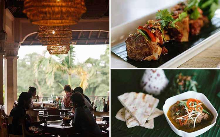 Tempat Makan atau Restoran Dengan Nuansa Alam Di Bali - Indus Restaurant