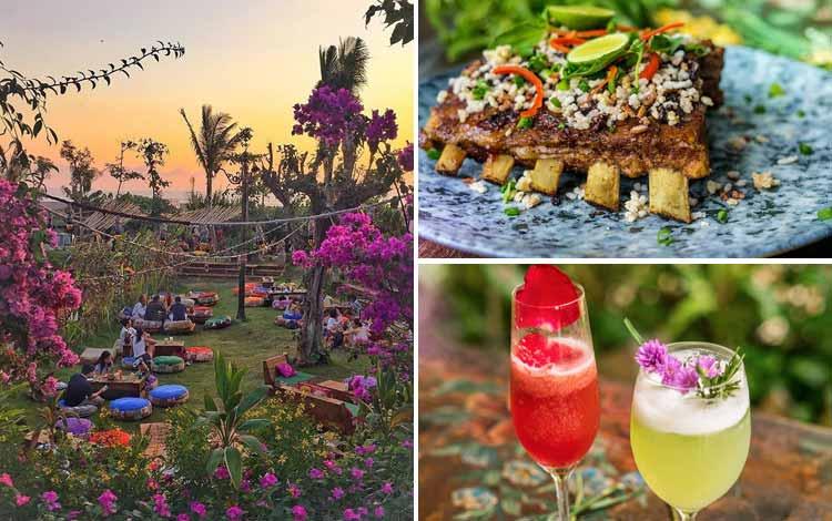Tempat Makan atau Restoran Dengan Nuansa Alam Di Bali - La Laguna
