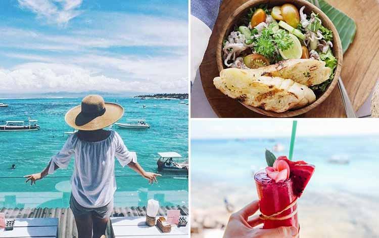 Tempat Makan atau Restoran Dengan Nuansa Alam Di Bali - The Deck Cafe