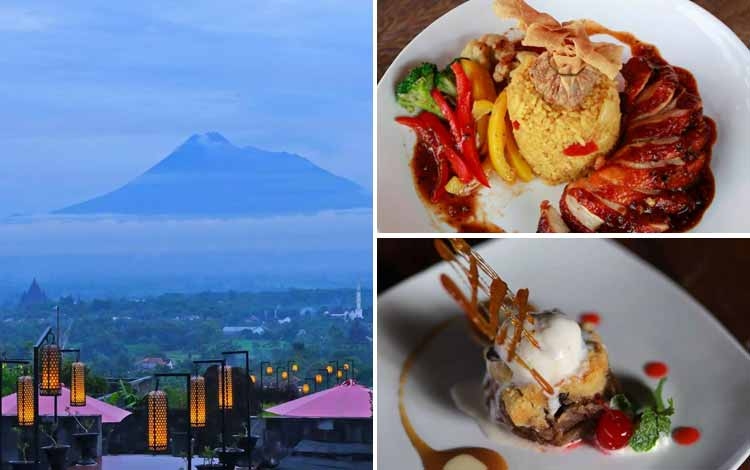 Tempat Makan atau Restoran Dengan Nuansa Alam Di Jogja - Abhayagiri Restaurant