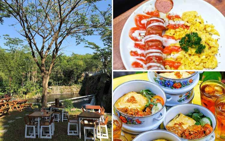 Tempat Makan atau Restoran Dengan Nuansa Alam Di Jogja - Joglo Pari Sewu